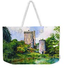 Blarney Castle Landscape Weekender Tote Bag by John D Benson
