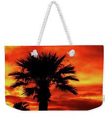 Blaze Weekender Tote Bag by Elaine Malott