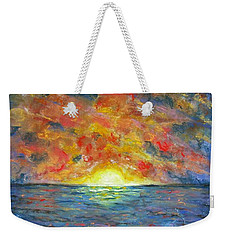 Blazing Glory Weekender Tote Bag
