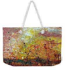 Blazing Prairie Weekender Tote Bag by Jacqueline Athmann