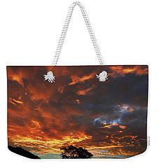 Blazing Sunrise Weekender Tote Bag