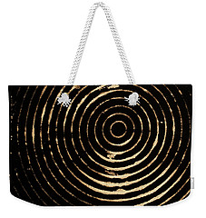 Bleached Circles Weekender Tote Bag by Cynthia Powell