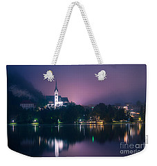 Weekender Tote Bag featuring the photograph Bled Slovenia 2 by Mariusz Czajkowski