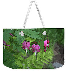 Bleeding Hearts 2 Weekender Tote Bag