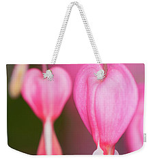 Bleeding Hearts Flowers Weekender Tote Bag