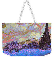 Blend 20 Van Gogh Weekender Tote Bag by David Bridburg