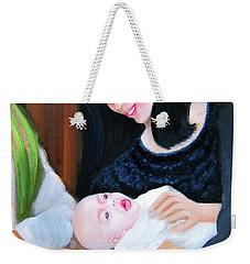 Blessed Beginnings Weekender Tote Bag