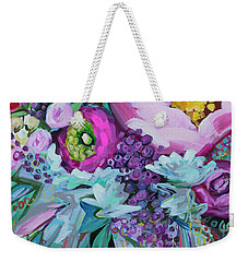 Blessings Come From Raindrops Weekender Tote Bag