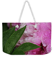 Weekender Tote Bag featuring the photograph Blessings Of The Rains by Rachel Cohen