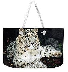 Blizzard Weekender Tote Bag by Linda Becker