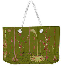 Blob Flower Garden Full View Weekender Tote Bag
