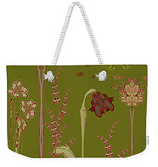 Blob Flower Garden Weekender Tote Bag