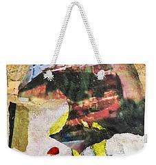 Blockhead Weekender Tote Bag