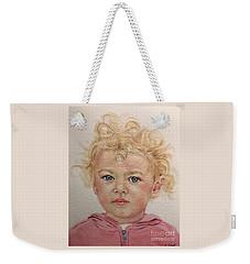 Blonde Girl Weekender Tote Bag