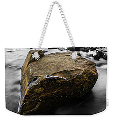 Weekender Tote Bag featuring the photograph Blonde Rock by Brian Jones