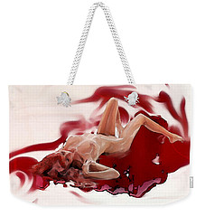 Blood Bath Weekender Tote Bag