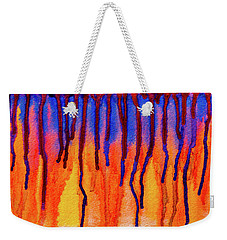 Blood Dawn  Weekender Tote Bag by Ken Frischkorn