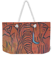 Blood Ivory Weekender Tote Bag