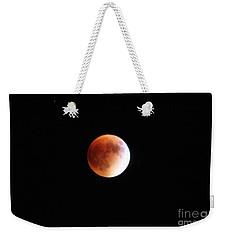 Blood Moon From Paonia Colorado  Weekender Tote Bag