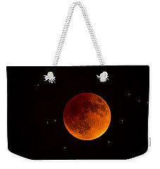 Blood Moon Lunar Eclipse 2015 Weekender Tote Bag