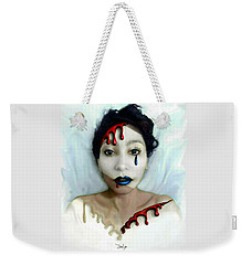 Blood Sweat Tears Faced Weekender Tote Bag