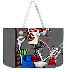 Bloody Mary Let The Dead Bury The Dead Weekender Tote Bag by Anthony Falbo
