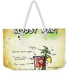 Bloody Mary Weekender Tote Bag by Movie Poster Prints