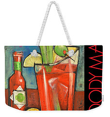 Bloody Mary Poster Weekender Tote Bag by Tim Nyberg