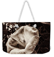 Bloom In Sepia Weekender Tote Bag
