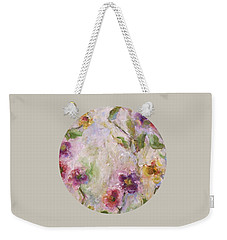 Bloom Weekender Tote Bag by Mary Wolf