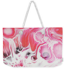 Weekender Tote Bag featuring the painting Bloom by Nikki Marie Smith