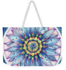 Bloom Of Counsciousness Weekender Tote Bag by Anna Ewa Miarczynska