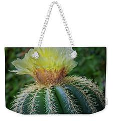 Blooming Cactus Weekender Tote Bag