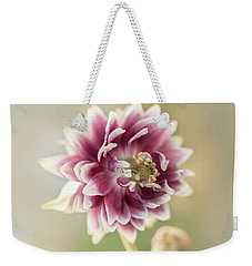 Blooming Columbine Flower Weekender Tote Bag