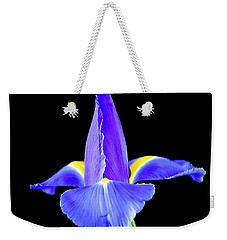 Blooming Iris 1318-1 Weekender Tote Bag