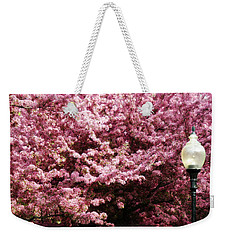 Weekender Tote Bag featuring the photograph Blooming Light by Cyryn Fyrcyd