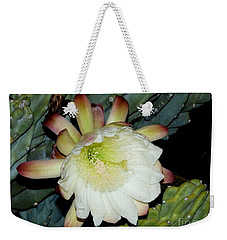 Blooming Night Cereus Weekender Tote Bag