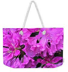 Blooming Rhododendron Weekender Tote Bag