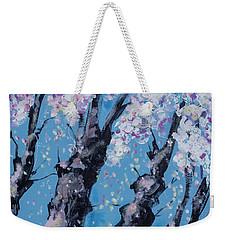 Blooming Trees Weekender Tote Bag by Maxim Komissarchik