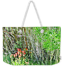 Blooming Wild Weekender Tote Bag by Marilyn Diaz