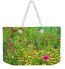 Blooming Wildflowers Weekender Tote Bag