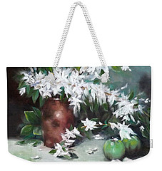 Blossom And Apples Weekender Tote Bag
