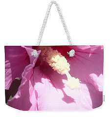 Weekender Tote Bag featuring the photograph Blossom At Kirby Park by Christina Verdgeline