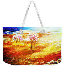 Blossom Dawn Weekender Tote Bag by Winsome Gunning