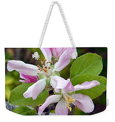 Blossom Duet Weekender Tote Bag by Carla Parris