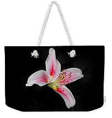 Blossom On Black Weekender Tote Bag