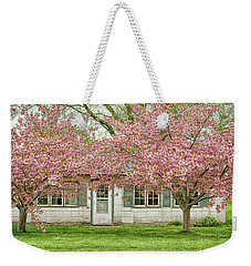 Blossom Time Taking Over  Weekender Tote Bag by Kathi Mirto