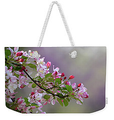 Blossoms And Bokeh Weekender Tote Bag