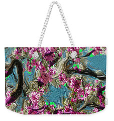 Blossoms And Branches Weekender Tote Bag by Dale Stillman