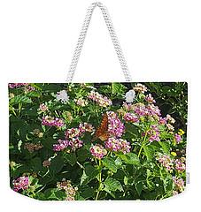 Blossoms And Wings #2 Weekender Tote Bag by Rachel Hannah